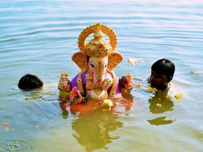 El festival de Ganesha, la celebración más colorida de la India