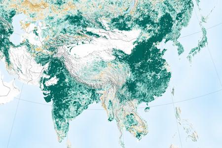 China y la India