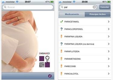 EmbaMed, útil aplicación sobre el uso de medicamentos durante el embarazo