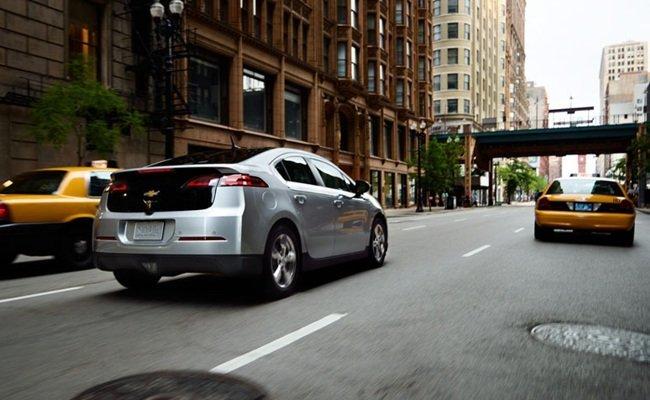 Chevrolet Volt en NYC