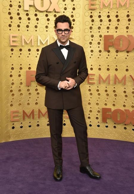 Dan Levy Emmy Awards Red Carpet Alfombra Roja Trendencias Hombre 3