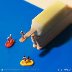 Foto 1 de 8 de la galería miniature-calendar en Directo al Paladar