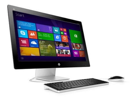 Hp Pavilion All In One Rigth Facing