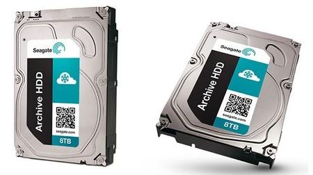 Seagate ya tiene listos sus nuevos discos duros de 5, 6 y 8 TB