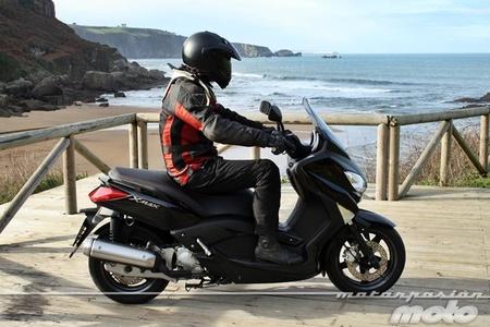 De pruebas con la Yamaha X-MAX 125 y la GoPro Hero3 a las cartas para los Reyes Magos, la semana a rebufo