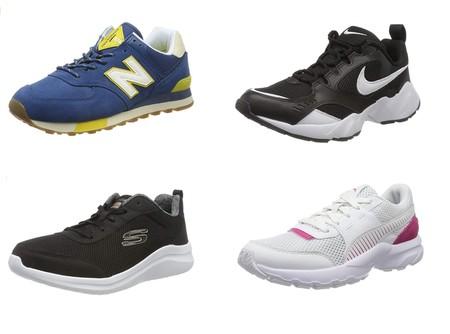 Chollos en tallas sueltas de zapatillas New Balance, Adidas, Puma o Nike por menos de 30 euros en Amazon
