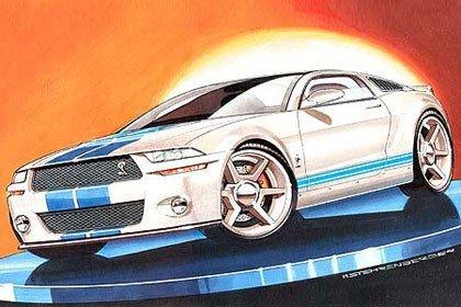 2010 Ford Mustang según Auto Motor Und Sport