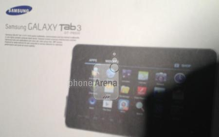Las resoluciones de pantalla de las tablets Samsung GT-P3200, GT-P5200 y GT-P8200 salen a la luz