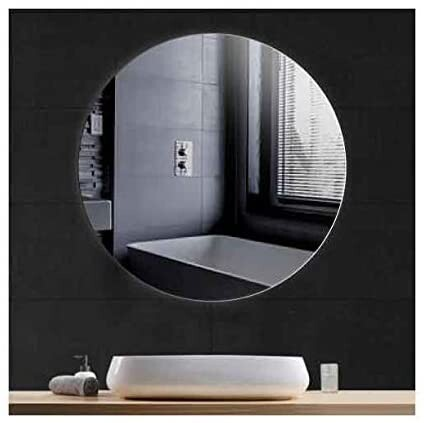 baño espejo redondo