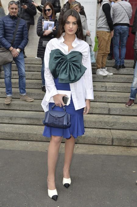 Marta Lozano Salvatore Ferragamo Women S Fw17 18 Rtw Show Fabio Iona High Res