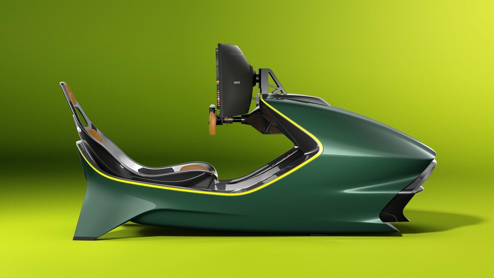 Foto de Simulador Aston Martin AMR-C01 (13/19)