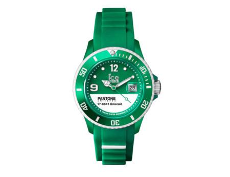 Ice Watch lanza un reloj con el color Pantone del año 2013: verde esmeralda