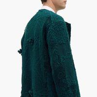 By Walid lleva el vintage a otro nivel con esta chaqueta de algodón original del siglo XIX