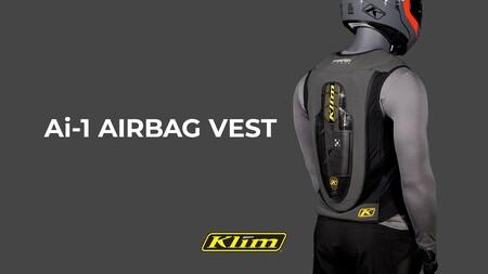 Lo último en seguridad vial... de pago: Este chaleco para la moto tiene airbag pero solo salta si estás suscrito