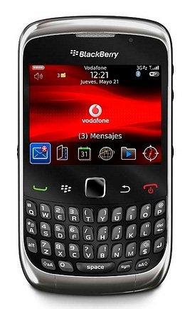 BlackBerry Curve 3G y Pearl 3G disponibles en España con Vodafone