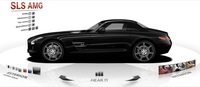 Cómo perder una mañana con el configurador del Mercedes SLS AMG