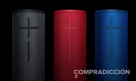Llévate un completo altavoz Bluetooth como el Ultimate Ears Boom 3 por sólo 75 euros en Amazon