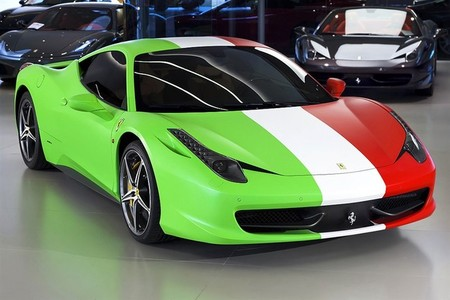 Ferrari 458 Italia cuatro estaciones con extra de queso