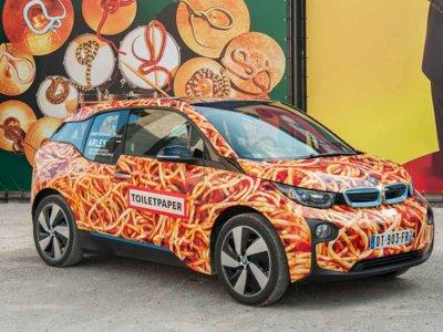 BMW i3 Spaghetti Car, un proyecto divertido que abre el apetito
