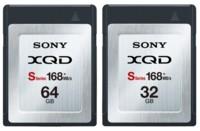 Tarjetas de memoria Sony XQD de 32 GB y 64GB y hasta 168 MB/s