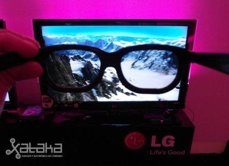 LG Cinema 3D, televisor 3D con gafas pasivas para familias numerosas