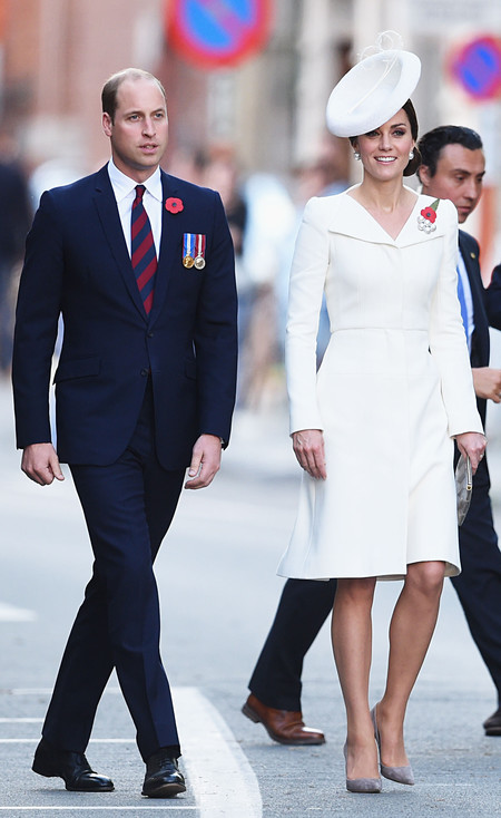 kate middleton look estilismo outfit total white blanco