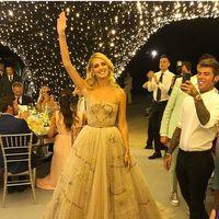 El segundo vestido de Chiara Ferragni cuenta su historia de amor, y también lo firma Dior