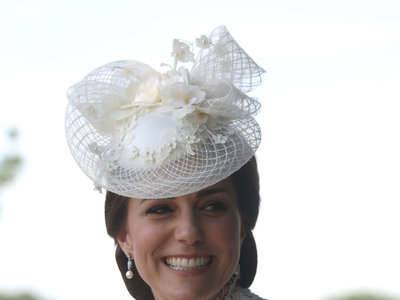 Kate Middleton ya está en Ascot con un look similar al del año pasado