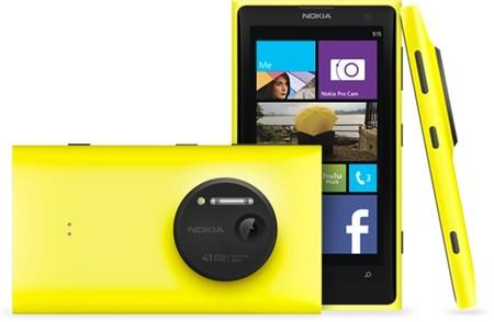 Nokia Lumia 1020 Camara Circular