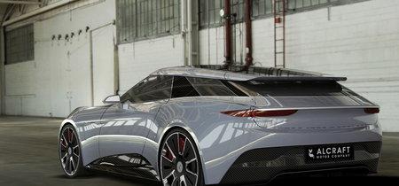 Si el futuro es eléctrico, que sea como el Alcraft GT: shooting brake, británico y con 600 CV