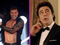 Ricky Martin y Benicio del Toro ya son producto nacional