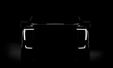Ford F-150 Lightning 2022, teaser