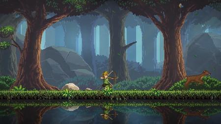 Faeland retoma la esencia del segundo Zelda de NES con un exquisito toque de pixelart