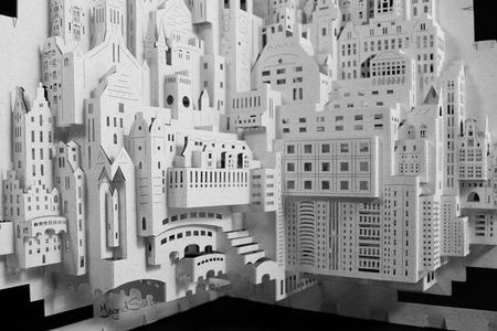 Arquitectura de papel por Ingrid Siliakus