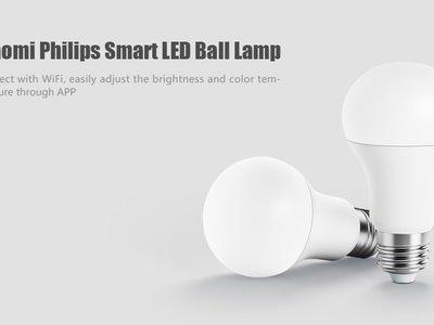 Bombilla inteligente Xiaomi Philips LED, con WiFi, por sólo 5,72 euros con este cupón