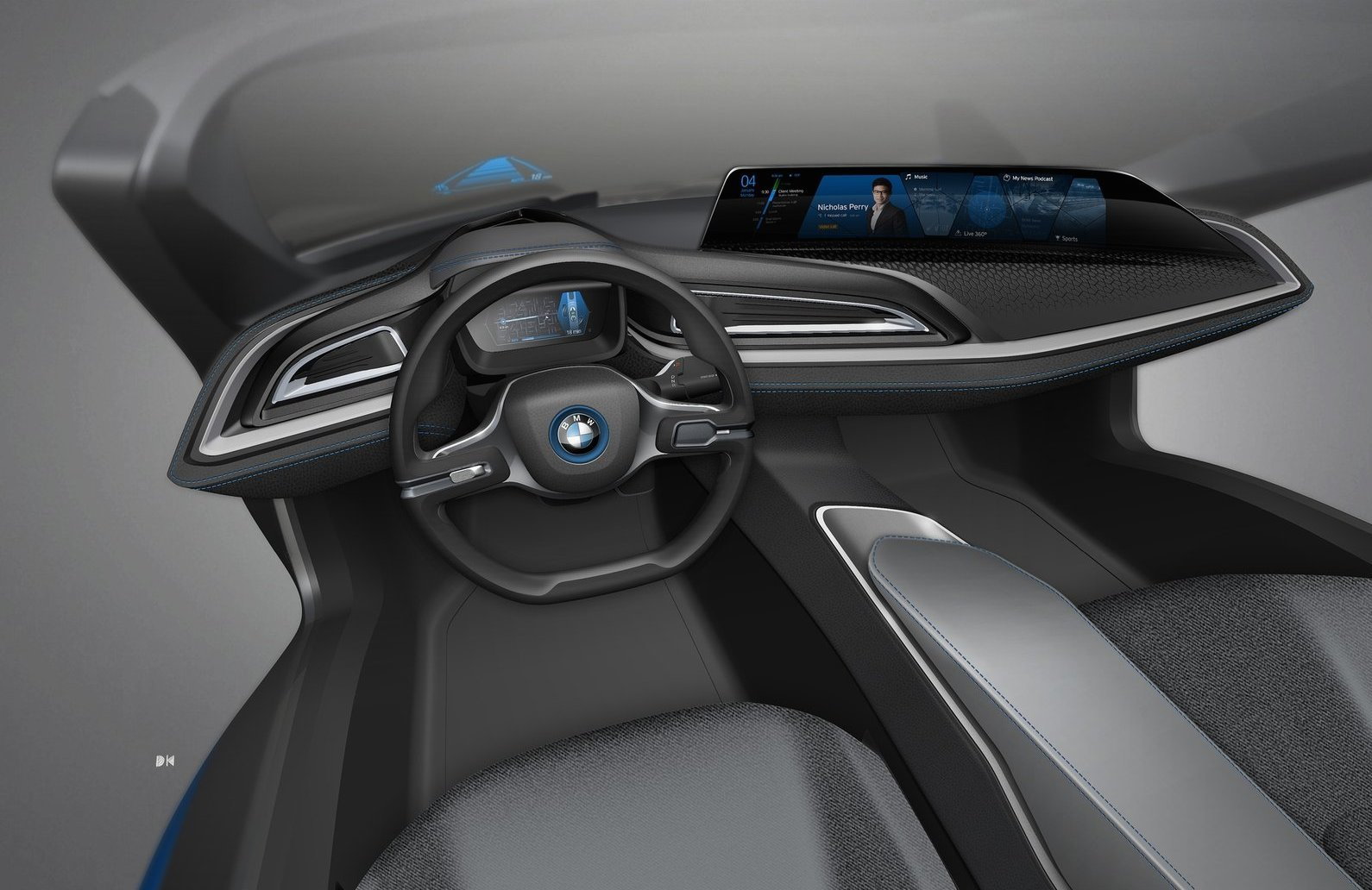 Foto de BMW i Vision Future Interaction Concept (17/19)