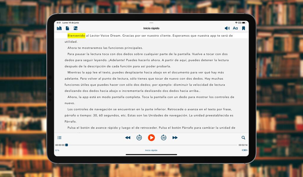 Voice Dream Reader: la app con la que leer todos nuestros textos de forma cómoda y fácil
