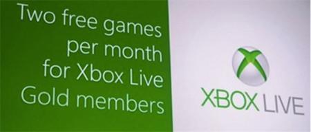 Microsoft ofrecerá dos juegos gratis al mes para los suscriptores de Xbox LIVE Gold