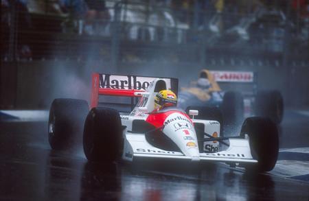 Ayrton Senna Rain
