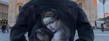 Esta artista hace que el denim se convierta en verdadero arte con sus pinturas renacentistas