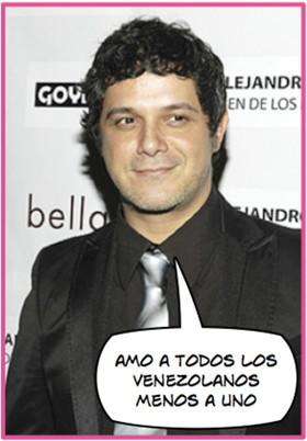 Alejandro Sanz y el lío venezolano