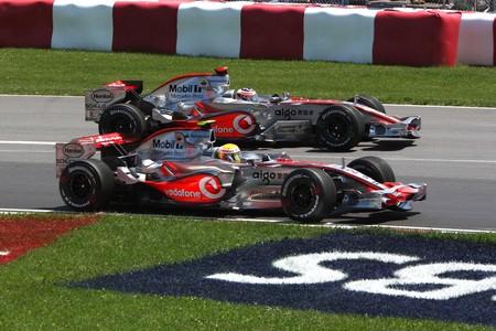Hamilton Alonso Canada F1 2007