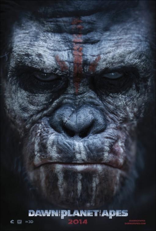 'El amanecer del planeta de los simios', carteles