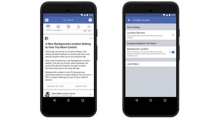 Así podrás bloquear el acceso a la ubicación en segundo plano en Facebook para Android