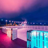 La pista de hielo más espectacular del mundo la hemos encontrado en la terraza de este hotel de Budapest