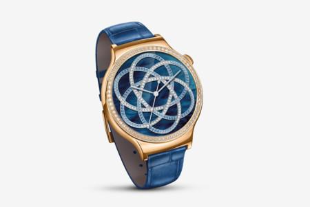 Parece un reloj de lujo pero es un smartwatch diseñado por Swarovski: Huawei Watch Jewel y Elegant