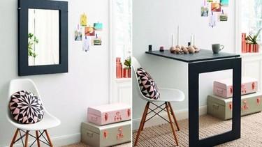 Hazlo tú mismo: Una mesa espejo. Ideal para pequeños espacios