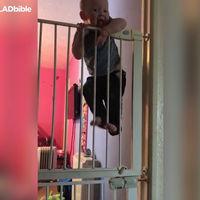 El vídeo del bebé escapista que se ha hecho viral en Facebook