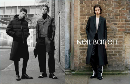 Neil Barrett Fall Winter 2017 Campaign 005