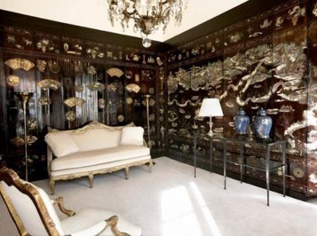 Otra habitación del apartamento de Chanel.